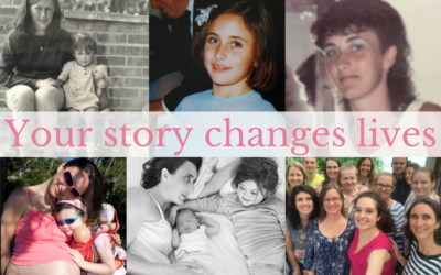 Your story changes lives