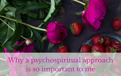 Why I'm passionate about a psychospiritual approach to human beings