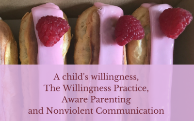 A child's willingness, The Willingness Practice, Aware Parenting and Nonviolent Communication
