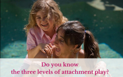 Do you know the three levels of attachment play?